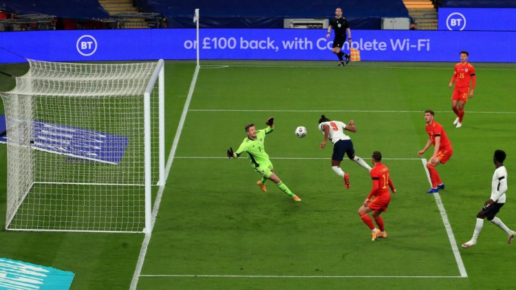 England 3-0 Wales: Calvert-Lewin grasps opportunity with debut goal