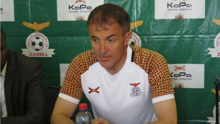 Zambia government orders early payment for Sredojevic ahead of Botswana clashes