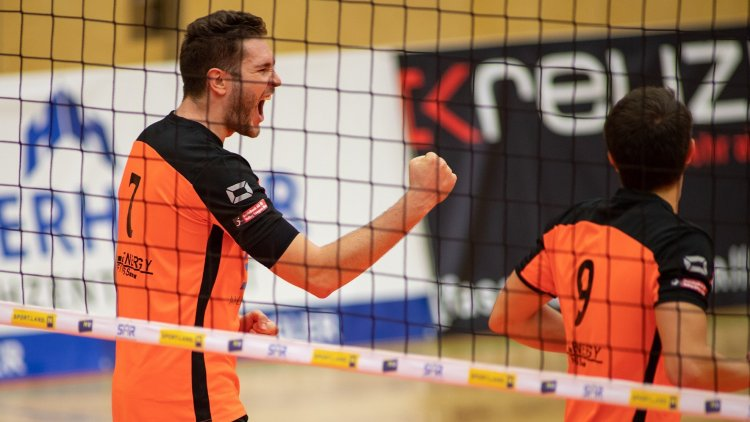 Austria: Third victory in a row for Amstetten, Sokol beats Klagenfurt in five sets