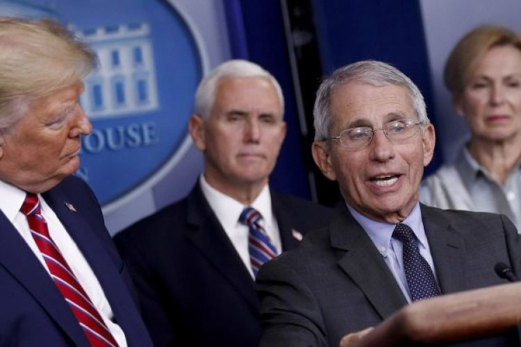 DISGUSTED? FAUCI WALKS AWAY INSTEAD OF ANSWERING REPORTER WHO PRAISES CHINA'S VIRUS RESPONSE