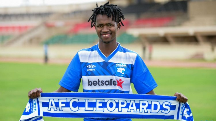 Thiong'o: AFC Leopards seal signing of winger from Kakamega Homeboyz