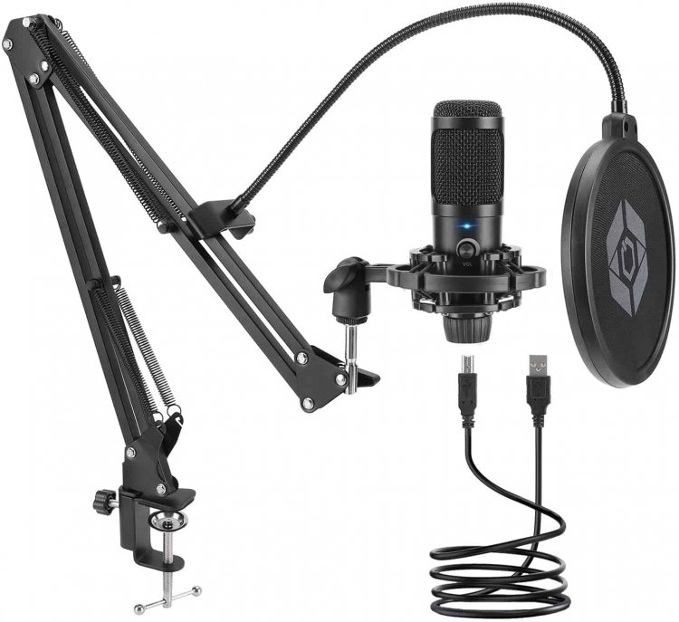 Amazon: USB Microphone Kit for $24.99 (Reg. Price $49.99) after code and coupon!