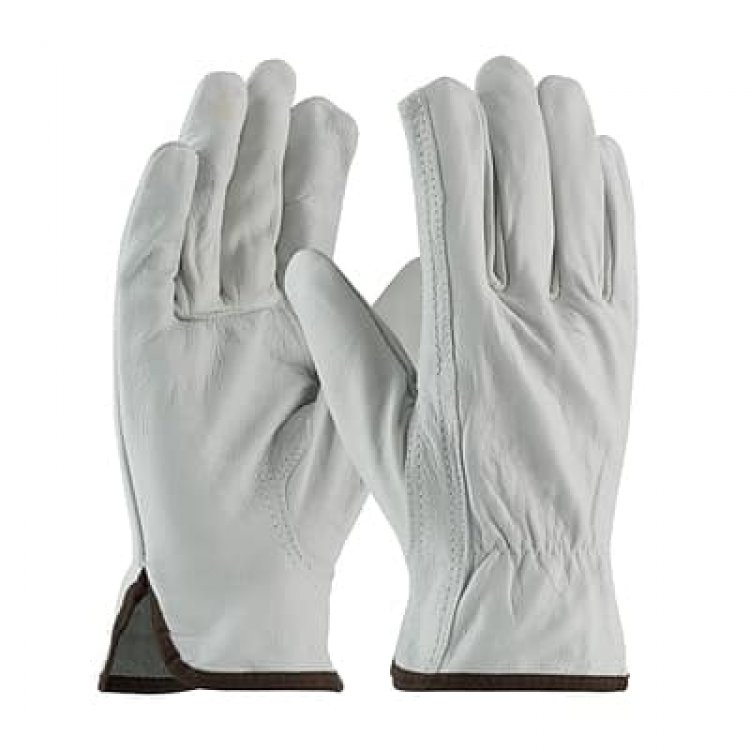 12-Pack Protective Industrial Products Top Grain Rawhide Leather Drivers Glove (Large) $29.60 + Free Shipping