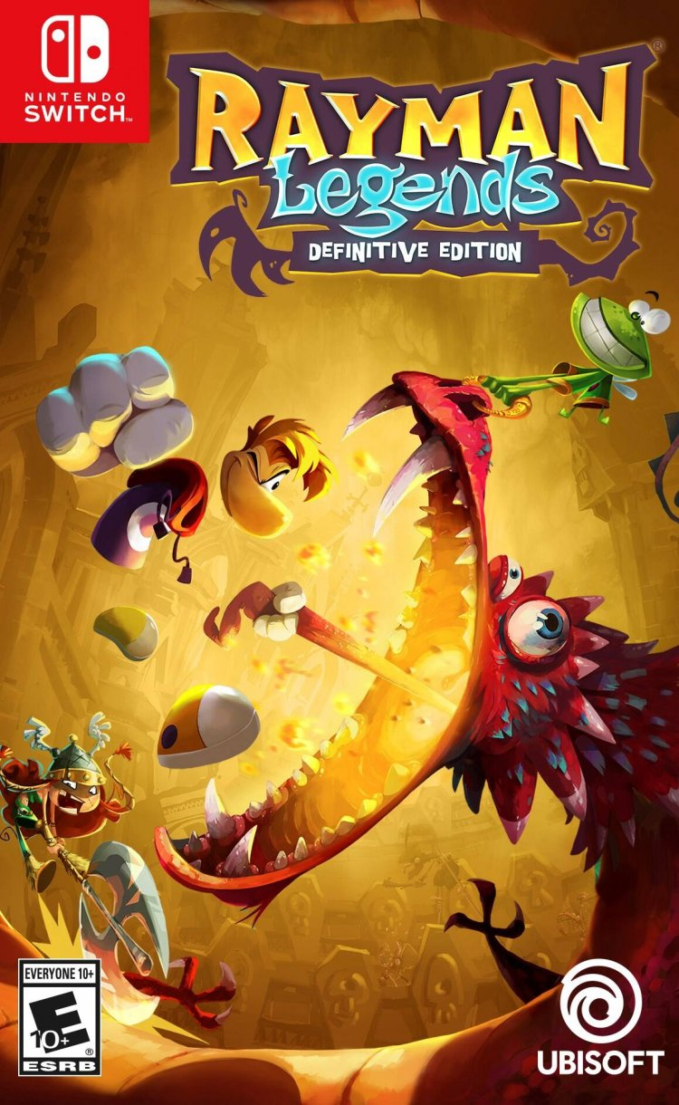Rayman Legends Definitive Edition for Nintendo Switch Physical Copy $13.63