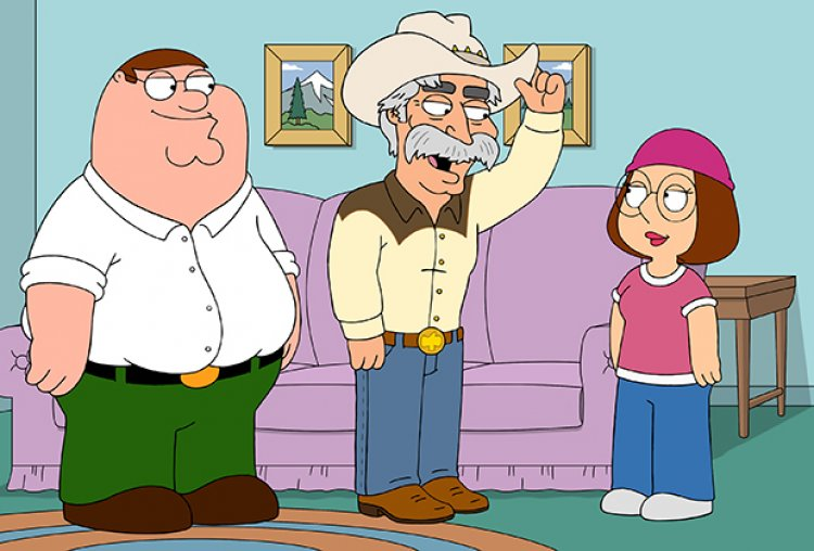 Family Guy: New Mayor Sam Elliott Has a Weird, Sexy Message for Meg — Watch