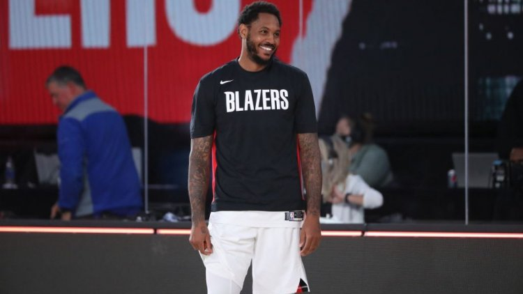 Report: Carmelo Anthony re-signing with Trail Blazers