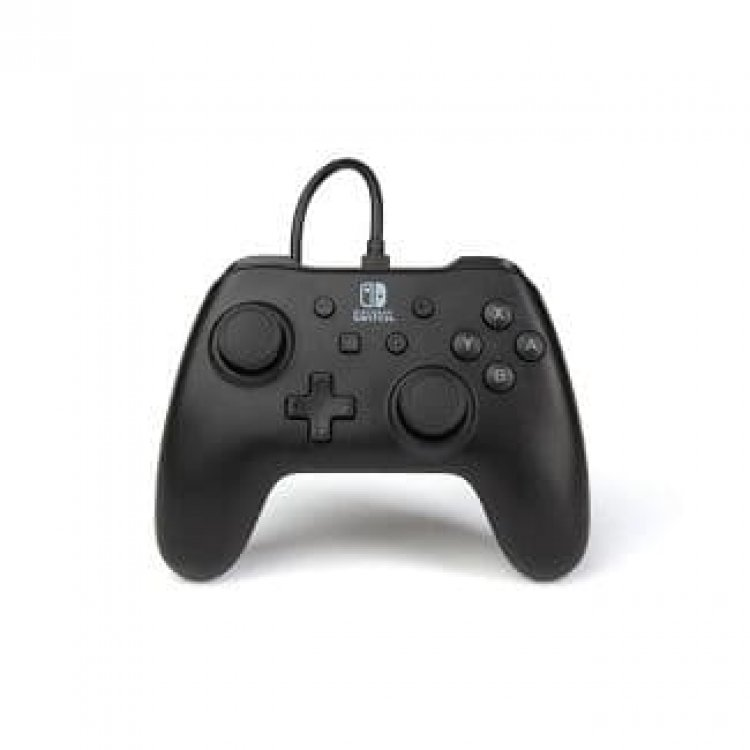 PowerA Wired Controller for Nintendo Switch (Black) $9.99