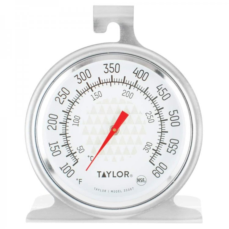 Amazon - Taylor 3506 TruTemp Series Oven/Grill Analog Dial Thermometer with Dual-Scale $2.69 FS w/Prime