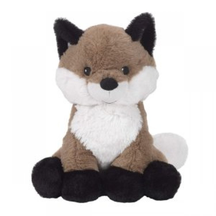 9020store Painted Forest Brown/White Plush Fox Stuffed Animal