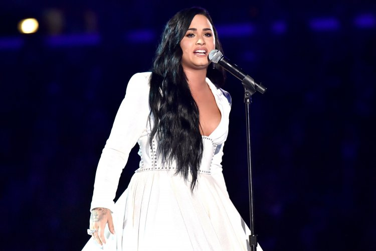 Demi Lovato teases new political music after Capitol takeover
