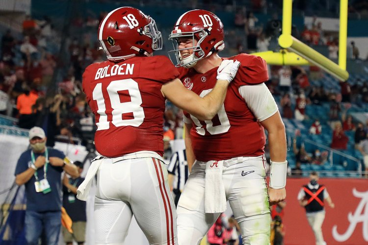 Alabama's Mac Jones proved he was more than a placeholder