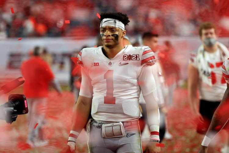 This version of Justin Fields wasn't enough for Ohio State