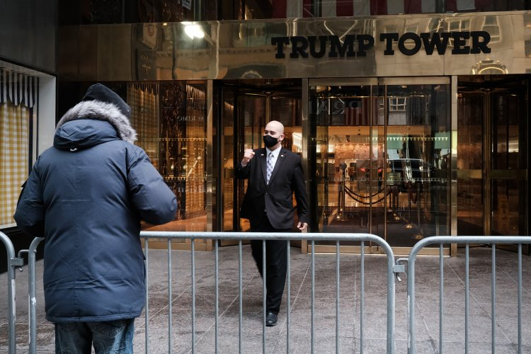 Towering business relief as E. 56th near Trump building reopens