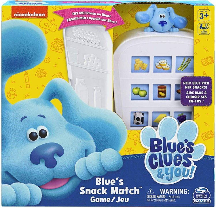 Amazon: Nickelodeon Blue's Clues Snack Match Game...