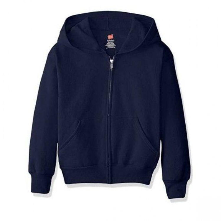 Amazon: Hanes Big Boys' Eco Smart Fleece Zip Hood...