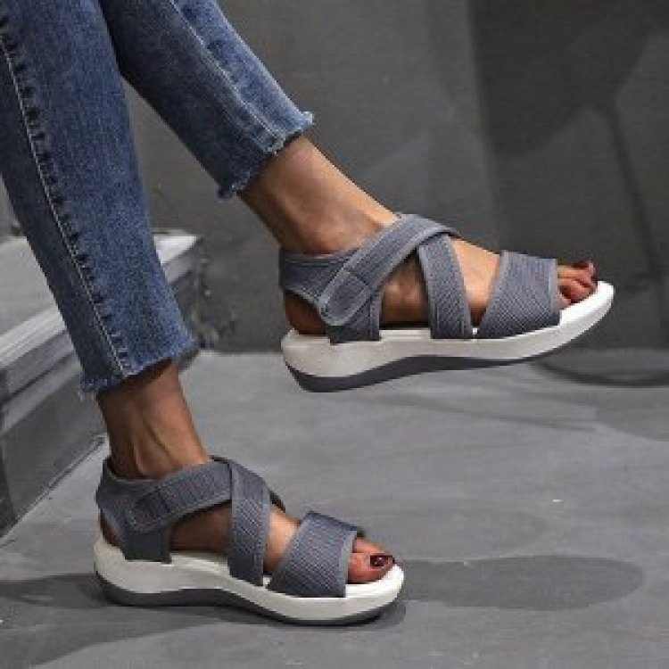 9020shoes Women's shoes Muffin bottom Shoes Sandals Sports sandals P07