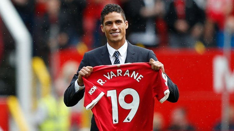 Varane 'very happy' to link up with Pogba at Manchester United as £40m defender targets silverware at Old Trafford