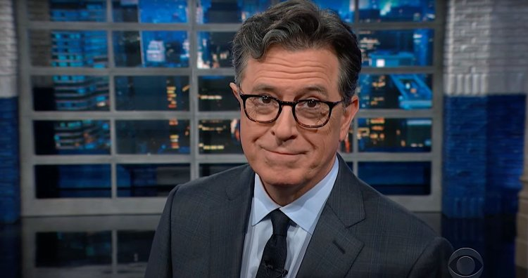 Colbert Learns The Deeply Personal Reason A 'Fat Bear' Was Named For Him